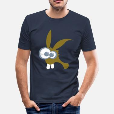 Roger rabit - Mannen slim fit T-shirt