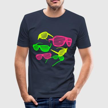 Shutter Shades - Männer Slim Fit T-Shirt