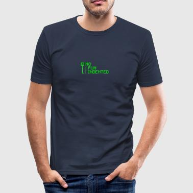 Geek woordspeling - slim fit T-shirt