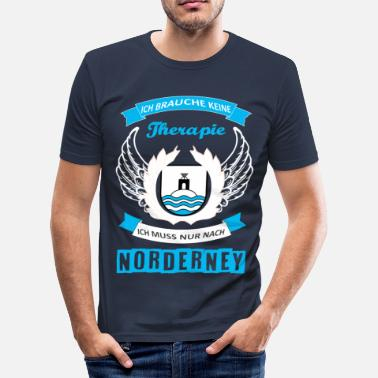 Therapie Norderney Norderney Therapie - Männer Slim Fit T-Shirt