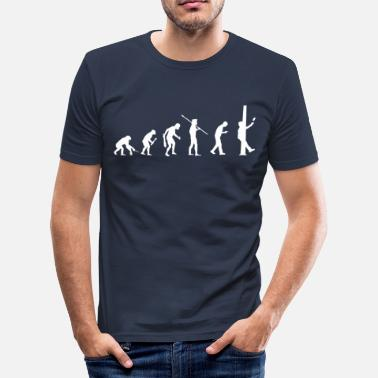 Pillars Smartphone Evolution - Pillar - Men's Slim Fit T-Shirt