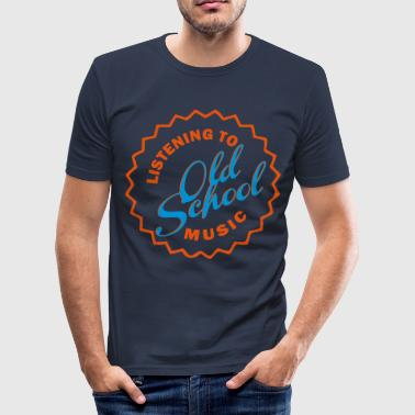 Old school style - Men's Slim Fit T-Shirt