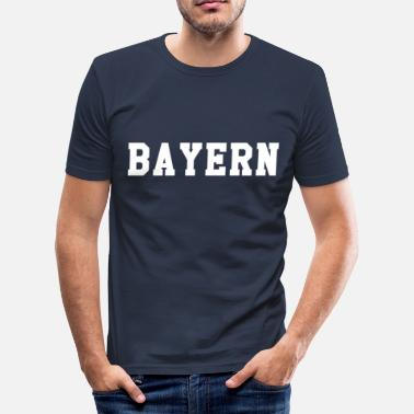 Bavaria Bavaria - Men's Slim Fit T-Shirt