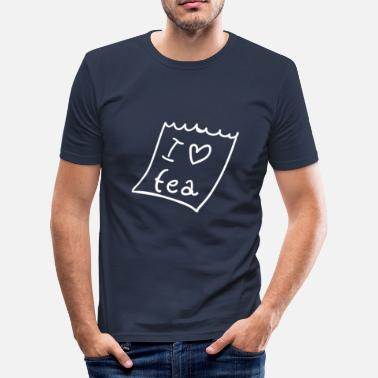 Tea tea - Men's Slim Fit T-Shirt
