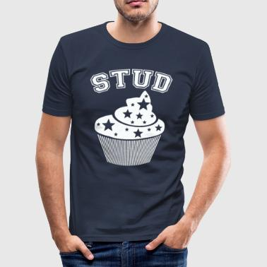 Studmuffin - Herre Slim Fit T-Shirt