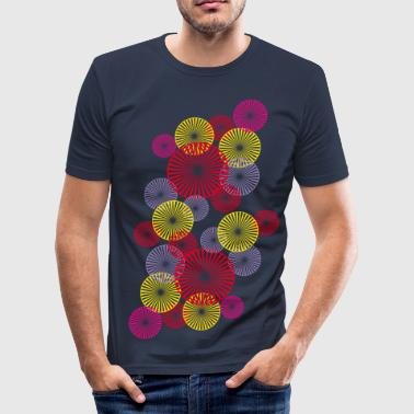 spring_bouquet_2 - Men's Slim Fit T-Shirt