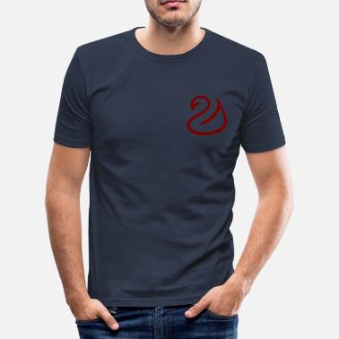 Svanar svan - Slim Fit T-shirt herr