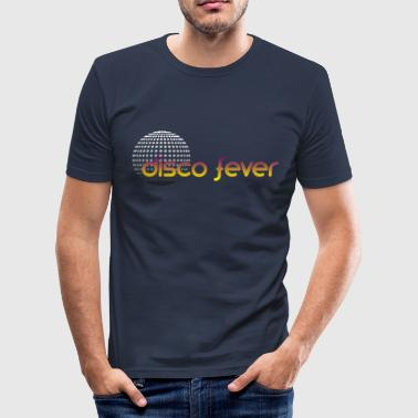 disco fever - Männer Slim Fit T-Shirt