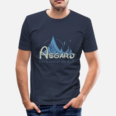 Walhalla Asgard Asgard Enclosure of the Æsir - Männer Slim Fit T-Shirt