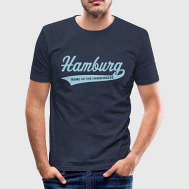 Hamburg – Home Of The Hamburgers (Hamburger) - Men's Slim Fit T-Shirt