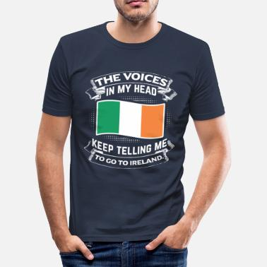 Reif Adjektiv To go to Ireland - Männer Slim Fit T-Shirt