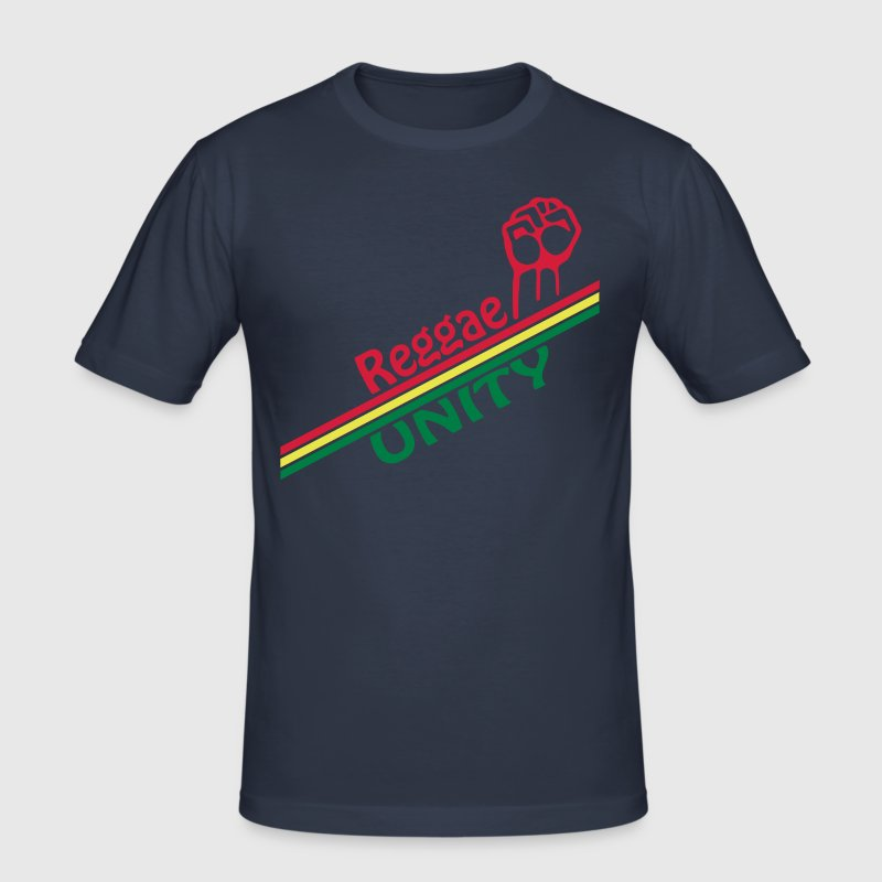 reggae unity - slim fit T-shirt