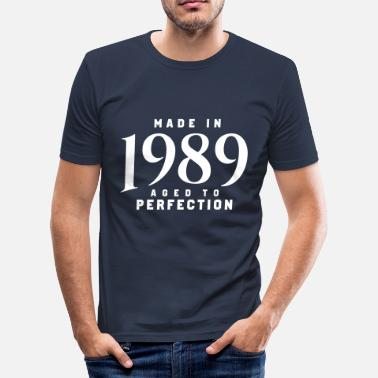 1989 MADE IN 1989 - T-shirt près du corps Homme