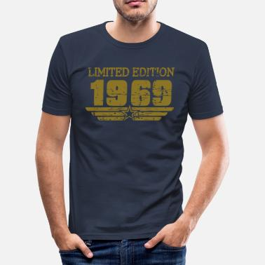 1969 LE Retro - Männer Slim Fit T-Shirt