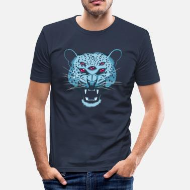 Hallucination Pathfinder Jaguar - Men's Slim Fit T-Shirt