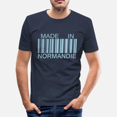 Le Havre Made in Normandie - T-shirt près du corps Homme