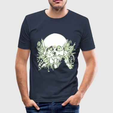 Skull-Shroom - Slim Fit T-shirt herr