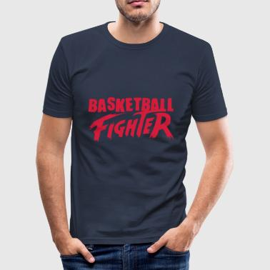 basketball fighter - Tee shirt près du corps Homme