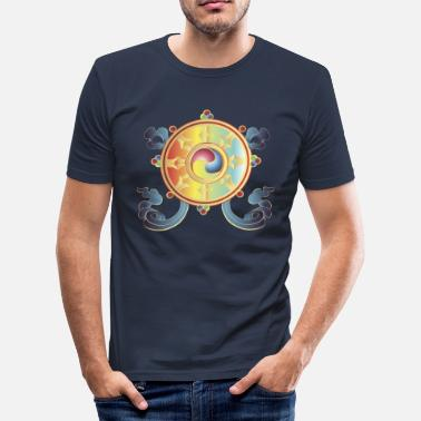 Boeddhisme Boeddhisme - slim fit T-shirt