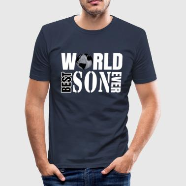 Best son in the world, son - Men's Slim Fit T-Shirt