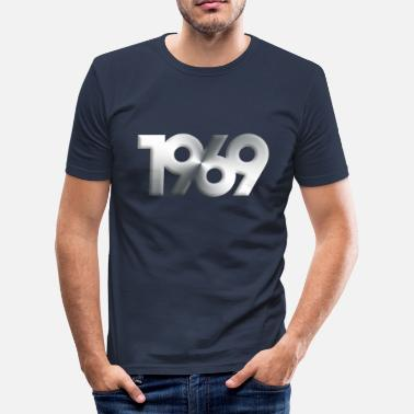 Born 1969 Born in 1969 - Men's Slim Fit T-Shirt