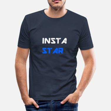 INSTA STAR WEAR - T-shirt moulant Homme
