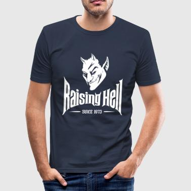 Raising Hell Since 1973 40th Birthday Gift - Men's Slim Fit T-Shirt