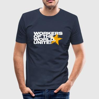 Workers of the world, unite! - Men's Slim Fit T-Shirt