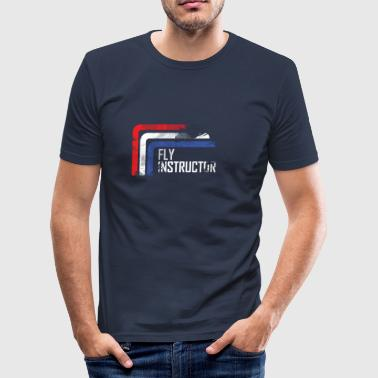 fly instructor - slim fit T-shirt