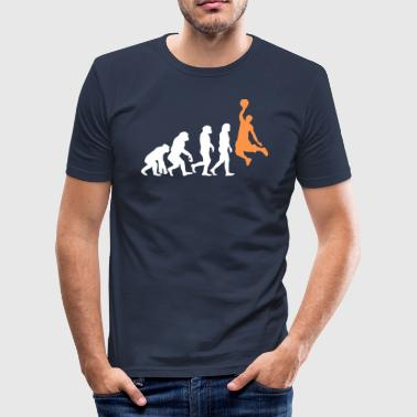Slam Dunk ++ Basketball Slam Dunk Evolution ++ - Men's Slim Fit T-Shirt