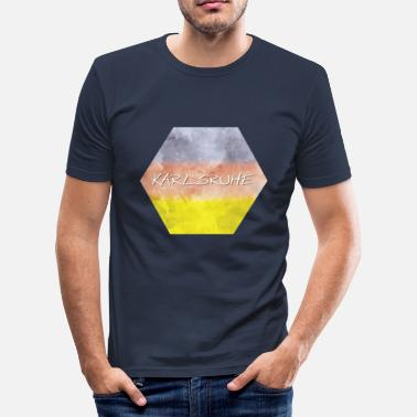 Karlsruhe Karlsruhe - Men's Slim Fit T-Shirt