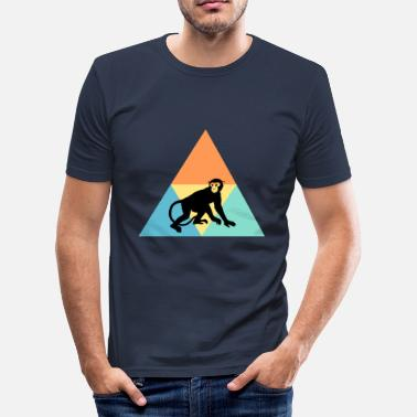 Singe Anthropoïde singe - T-shirt moulant Homme