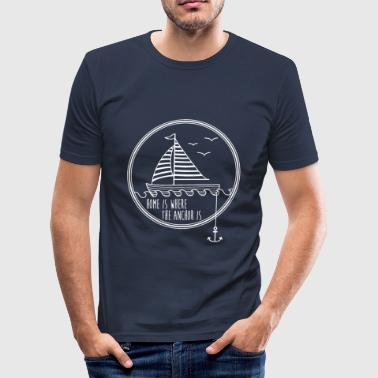 Sailing - Men's Slim Fit T-Shirt