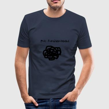 Ink Tumbleweed - T-shirt près du corps Homme