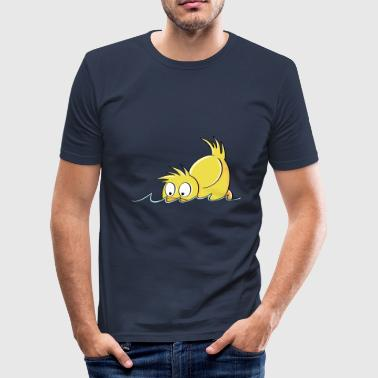 Duck Duck - Duck-komisch - slim fit T-shirt