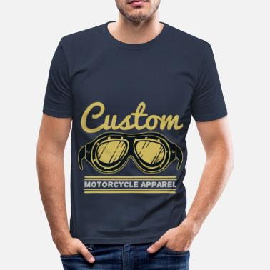 Custom Bike Custom Motorcycle - Men's Slim Fit T-Shirt