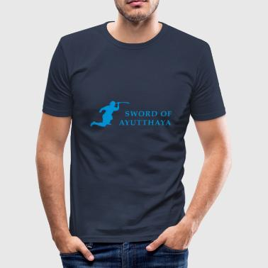 SWORD OF AYUTTHAYA - Men's Slim Fit T-Shirt