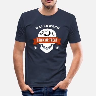 Trick Or Treat Halloween Trick or Treat - Männer Slim Fit T-Shirt