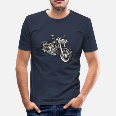 Motor chopper hog bike motorrad - slim fit T-shirt