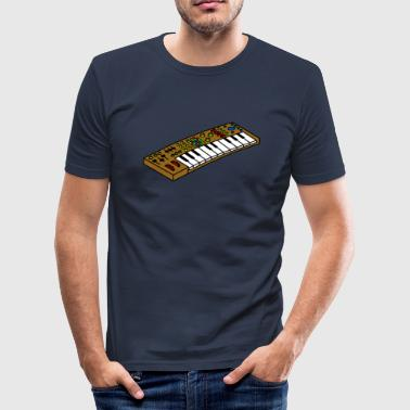 Synthesizer overhemd Synthesizer - slim fit T-shirt