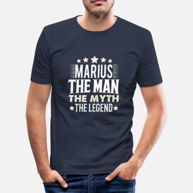 Marius Marius - Men's Slim Fit T-Shirt