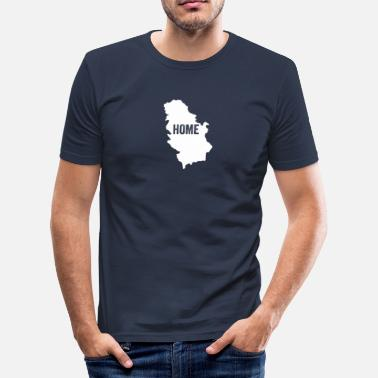 Novi Sad Serbia Home - Men's Slim Fit T-Shirt
