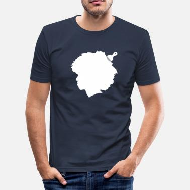 Afro Afro - T-shirt moulant Homme