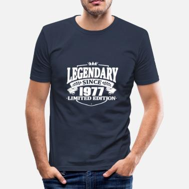 1977 Legendarisk sedan 1977 - Slim Fit T-shirt herr