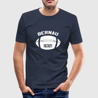 16321 Bernau Football T-Shirt - Männer Slim Fit T-Shirt