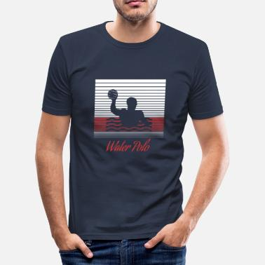 Polo water polo - Men's Slim Fit T-Shirt