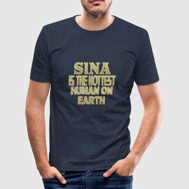 Sina - Männer Slim Fit T-Shirt