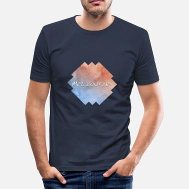 Melbourne Melbourne - Herre Slim Fit T-Shirt
