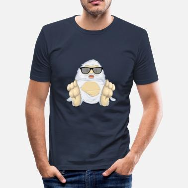 Yeti yeti - Männer Slim Fit T-Shirt