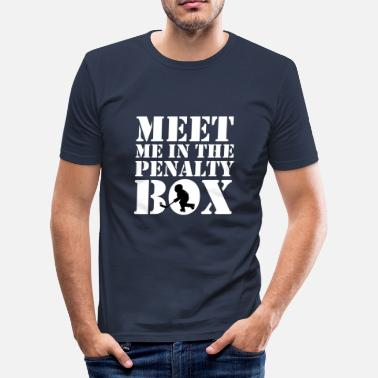 Penalty Penalty Box - Männer Slim Fit T-Shirt